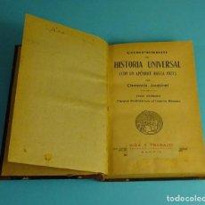 Libros antiguos: COMPENDIO DE HISTORIA UNIVERSAL TOMO 1º TIEMPOS PREHISTÓRICOS AL IMPERIO ROMANO. CLEMENCIA JACQUINET. Lote 207857952