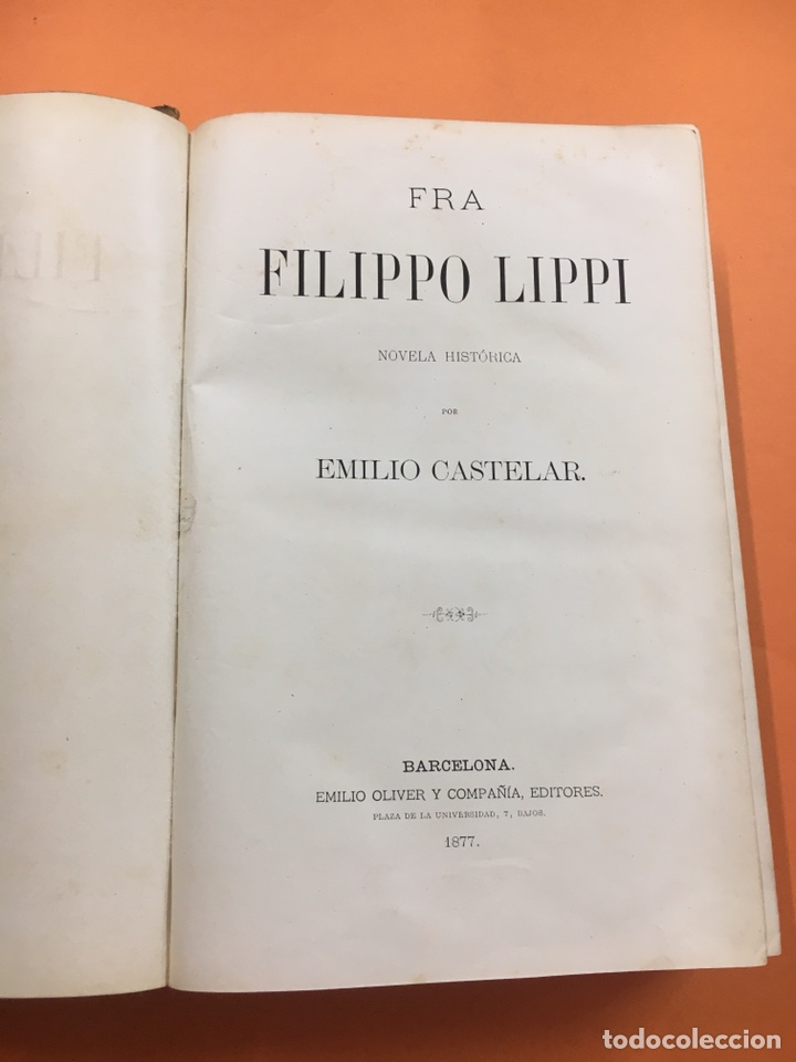 Libros antiguos: Fra Filippo Lippi - Foto 3 - 208694466