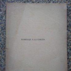 Libros antiguos: GALICIA.'HOMENAJE A LA CORUÑA'...ERIGIR UN MONUMENTO A MARIA PITA' POR A.MARTINEZ SALAZAR. 1891. Lote 209157843