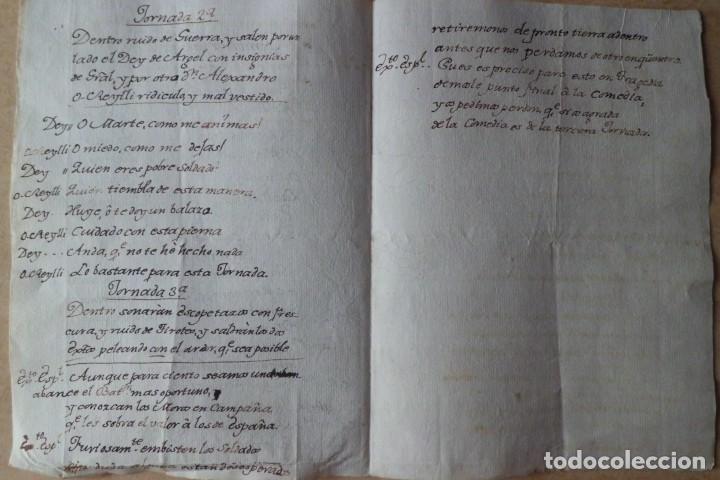Libros antiguos: POESIA HISTORICA, DESASTRE DE ARGEL, MILITAR, FINALES SIGLO XVIII - Foto 3 - 209196522