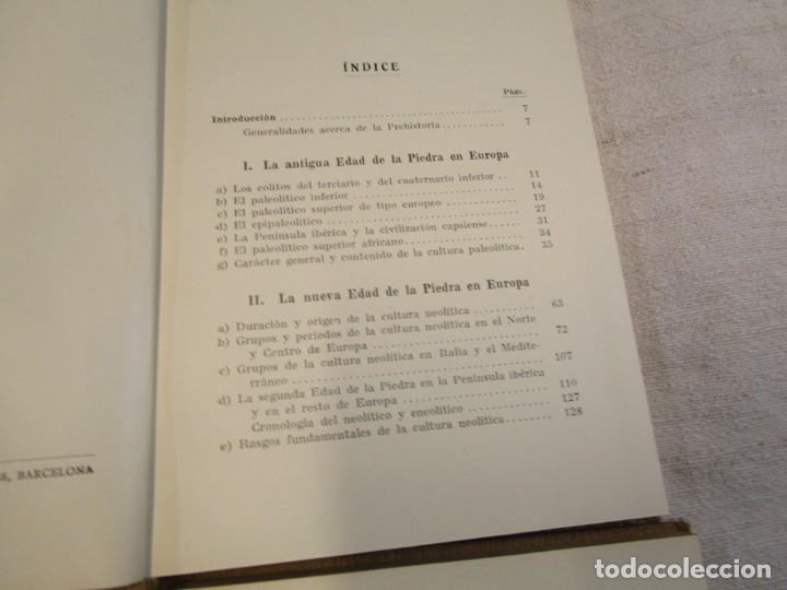 Libros antiguos: Prehistoria, tres tomos, Moritz Hoernes, Labor, 1928, 1934, 1931, nº 41/80/115, excelentes + INFO - Foto 4 - 209823083