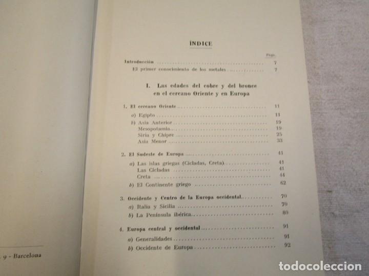 Libros antiguos: Prehistoria, tres tomos, Moritz Hoernes, Labor, 1928, 1934, 1931, nº 41/80/115, excelentes + INFO - Foto 7 - 209823083