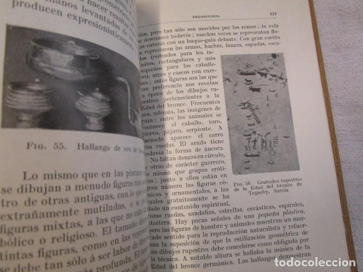 Libros antiguos: Prehistoria, tres tomos, Moritz Hoernes, Labor, 1928, 1934, 1931, nº 41/80/115, excelentes + INFO - Foto 9 - 209823083