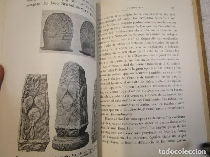 Libros antiguos: Prehistoria, tres tomos, Moritz Hoernes, Labor, 1928, 1934, 1931, nº 41/80/115, excelentes + INFO - Foto 13 - 209823083