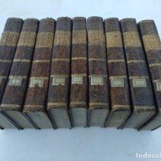 Libros antiguos: PELO ABBADE MILOT .9 T. HISTORIA UNIVERSAL EN PORTUGUES, LISBOA 1801. Lote 210413446