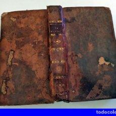Libros antiguos: AÑO 1801: HISTORIA DE LAS REVOLUCIONES DE FRANCIA. LIBRO DE 220 AÑOS DE ANTIGÜEDAD.. Lote 210600650