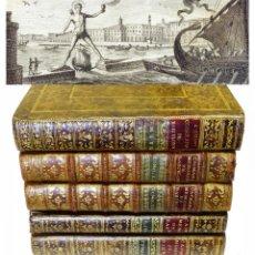 Libros antiguos: 1779 - 5 TOMOS - CAPMANY Y MONTPALAU - CONSULADO DE MAR - MEMORIAS HISTÓRICAS DE BARCELONA. Lote 211459382