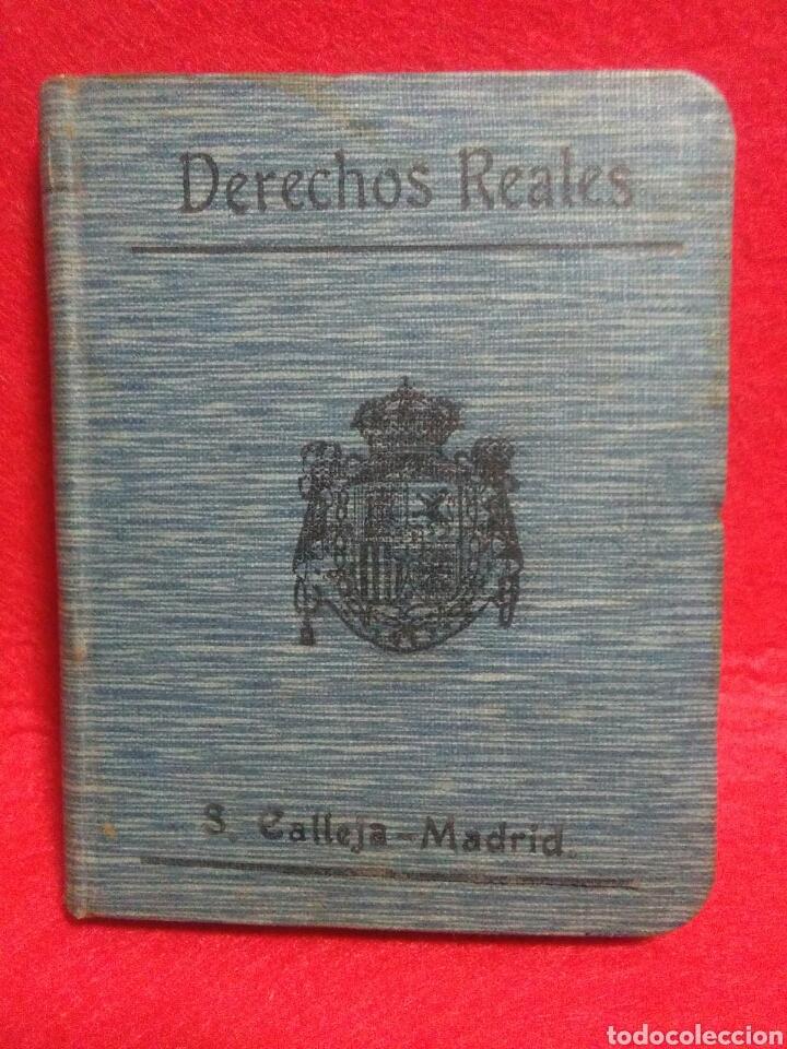 PEQUEÑO LIBRO DE DERECHOS REALES S.CALLEJA -MADRID 1876 (Libros antiguos (hasta 1936), raros y curiosos - Historia Antigua)