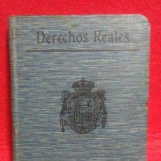 Libros antiguos: PEQUEÑO LIBRO DE DERECHOS REALES S.CALLEJA -MADRID 1876. Lote 212058078