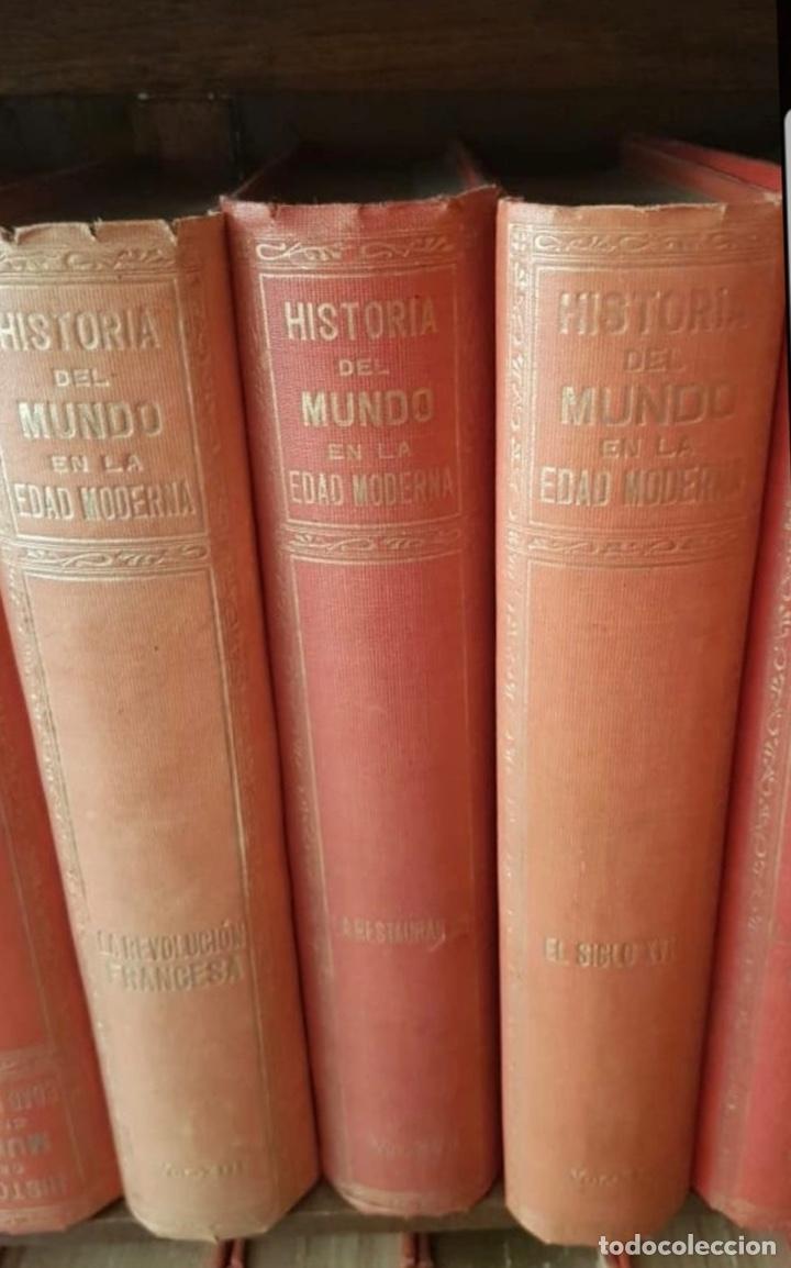 Libros antiguos: HISTORIA DEL MUNDO EDAD MODERNA TOMO I AL TOMO XXV EDUARDO IBARRA Y RODRIGUEZ ED SOPENA 1918 - Foto 2 - 212280450