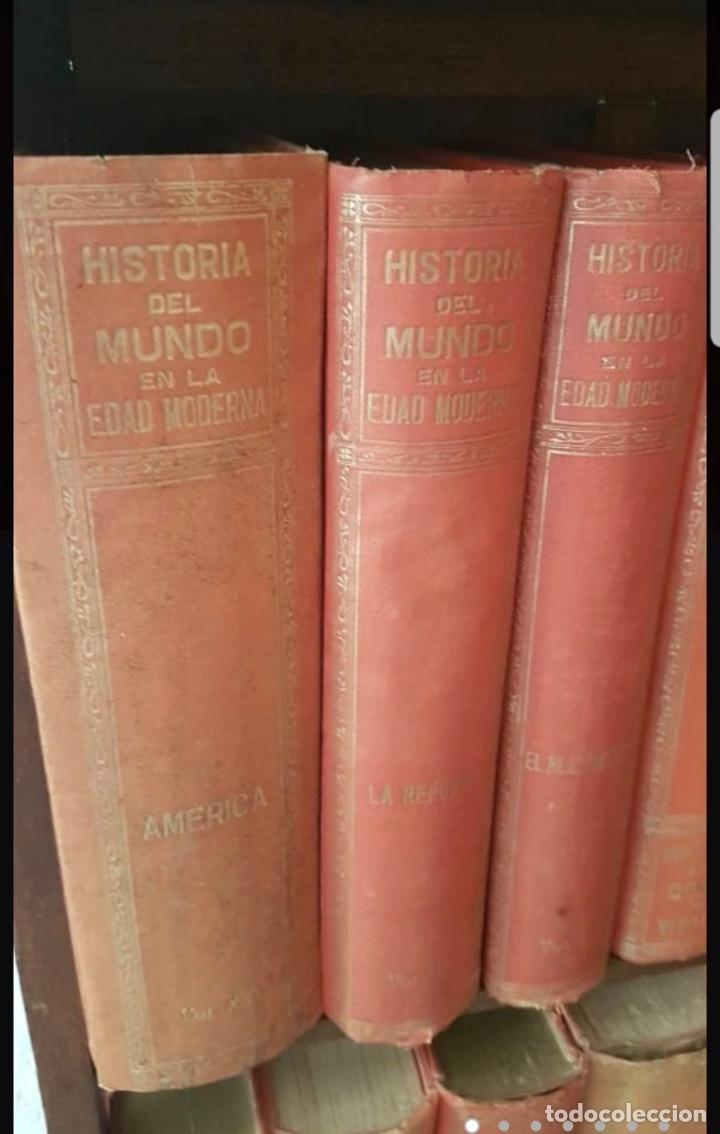 Libros antiguos: HISTORIA DEL MUNDO EDAD MODERNA TOMO I AL TOMO XXV EDUARDO IBARRA Y RODRIGUEZ ED SOPENA 1918 - Foto 6 - 212280450