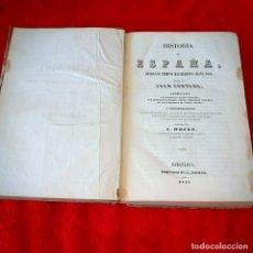 Libros antiguos: HISTORIA DE ESPAÑA. Lote 212406750