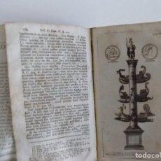 Libros antiguos: LIBRERIA GHOTICA. NIEUPOORT. RITUUM,QUI OLIM APUD ROMANOS OBTINUERUNT.1774.RITUALES PAGANOS.GRABADOS. Lote 212422188