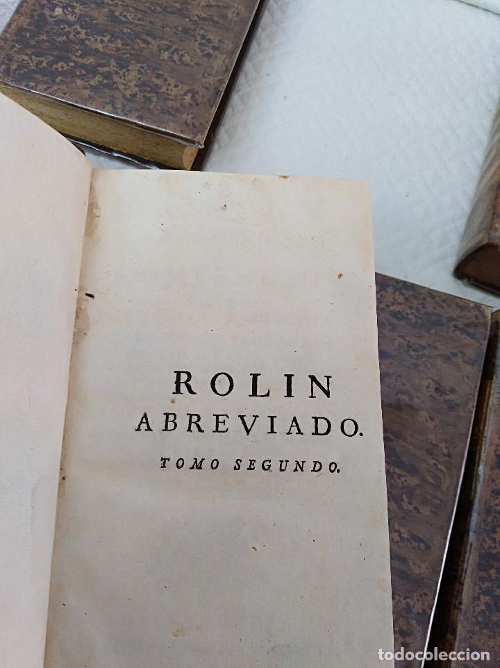 Libros antiguos: Edición Lujo-Compendio de la historia antigua o Rolin abreviado COMPLETO - AMBERES 1745. 6 Tomos - Foto 5 - 41240551