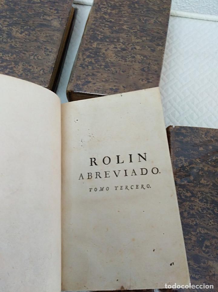 Libros antiguos: Edición Lujo-Compendio de la historia antigua o Rolin abreviado COMPLETO - AMBERES 1745. 6 Tomos - Foto 7 - 41240551