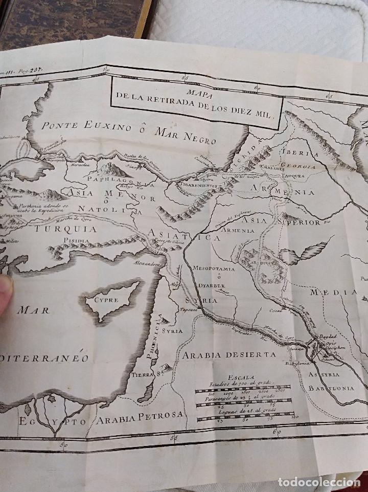 Libros antiguos: Edición Lujo-Compendio de la historia antigua o Rolin abreviado COMPLETO - AMBERES 1745. 6 Tomos - Foto 9 - 41240551