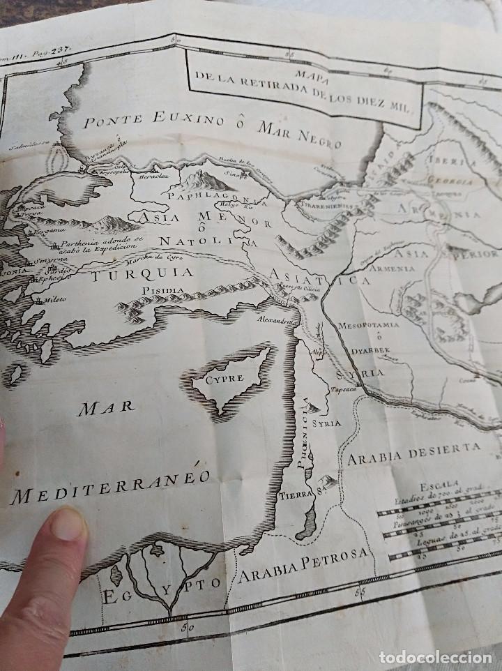 Libros antiguos: Edición Lujo-Compendio de la historia antigua o Rolin abreviado COMPLETO - AMBERES 1745. 6 Tomos - Foto 11 - 41240551