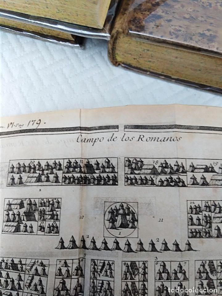 Libros antiguos: Edición Lujo-Compendio de la historia antigua o Rolin abreviado COMPLETO - AMBERES 1745. 6 Tomos - Foto 25 - 41240551