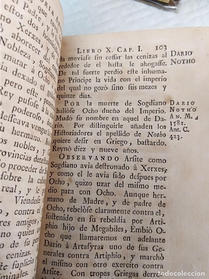 Libros antiguos: Edición Lujo-Compendio de la historia antigua o Rolin abreviado COMPLETO - AMBERES 1745. 6 Tomos - Foto 31 - 41240551