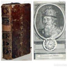 Libros antiguos: AÑO 1737: HISTORIA DE LAS REVOLUCIONES DE INGLATERRA. ILUSTRADO. 615 PÁGINAS.. Lote 213508057