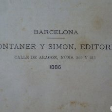 Libros antiguos: LA CIVILIZACIÓN DE LOS ÁRABES. 1886 CON INFINIDAD DE GRABADOS. Lote 213847293