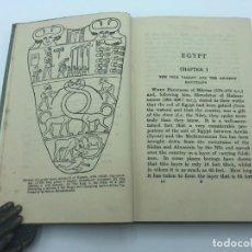 Libros antiguos: ERNEST WALLIS BUDGE. EGYPT. 1934. Lote 216223643
