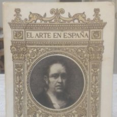 Libros antiguos: GOYA EN EL MUSEO DEL PRADO EL ARTE EN ESPAÑA. Lote 216885632