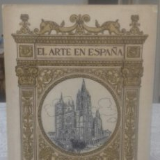 Libros antiguos: CATEDRAL DE LEON EL ARTE EN ESPAÑA. Lote 216886306