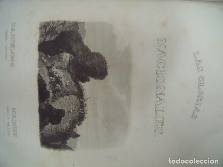 Libros antiguos: MANUEL ORTIZ DE LA VEGA.-LAS GLORIAS NACIONALES.-GRAN HISTORIA UNIVERSAL.-GRABADOS.-AÑOS 1852-1854. - Foto 2 - 217003992