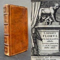 Libros antiguos: 1638 - LUCIO ANEO FLORO - RERUM ROMANARUM - HISTORIA ROMANA - EPÍTOME DE LA HISTORIA DE TITO LIVIO. Lote 218818826