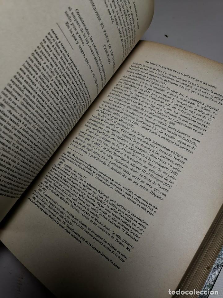 Libros antiguos: MISCELANEA HISTÓRICA CATALANA. - F. CARRERAS Y CANDI (obra completa)1905-1906 con autografo dedicado - Foto 27 - 219273495