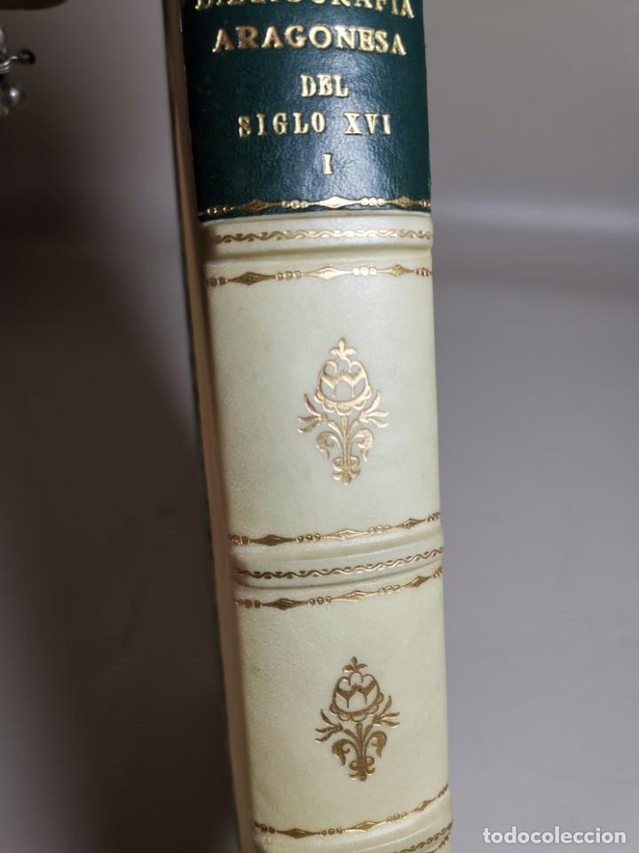 Libros antiguos: BIBLIOGRAFÍA ARAGONESA DEL SIGLO XVI ( 1501-1550 ) JUAN M. SÁNCHEZ 1913 papel de hilo 1/150.TOMO I.. - Foto 18 - 219274582