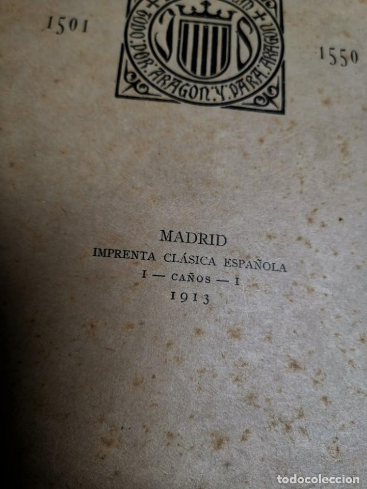 Libros antiguos: BIBLIOGRAFÍA ARAGONESA DEL SIGLO XVI ( 1501-1550 ) JUAN M. SÁNCHEZ 1913 papel de hilo 1/150.TOMO I.. - Foto 23 - 219274582