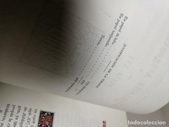 Libros antiguos: BIBLIOGRAFÍA ARAGONESA DEL SIGLO XVI ( 1501-1550 ) JUAN M. SÁNCHEZ 1913 papel de hilo 1/150.TOMO I.. - Foto 25 - 219274582