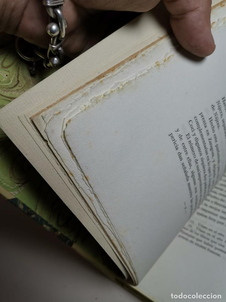Libros antiguos: BIBLIOGRAFÍA ARAGONESA DEL SIGLO XVI ( 1501-1550 ) JUAN M. SÁNCHEZ 1913 papel de hilo 1/150.TOMO I.. - Foto 26 - 219274582