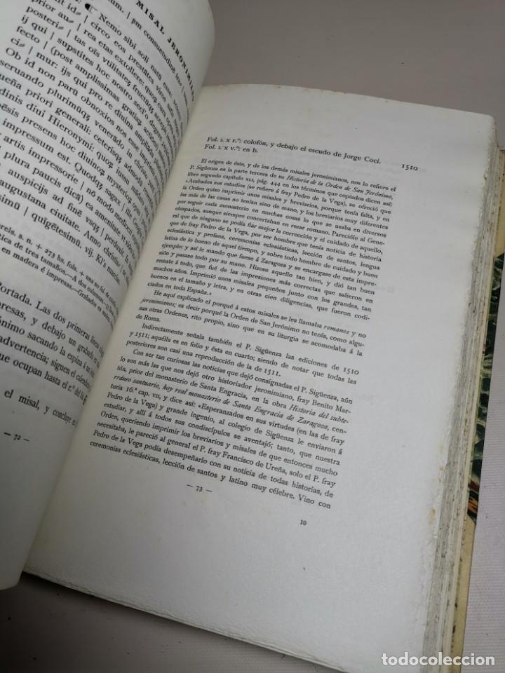 Libros antiguos: BIBLIOGRAFÍA ARAGONESA DEL SIGLO XVI ( 1501-1550 ) JUAN M. SÁNCHEZ 1913 papel de hilo 1/150.TOMO I.. - Foto 29 - 219274582