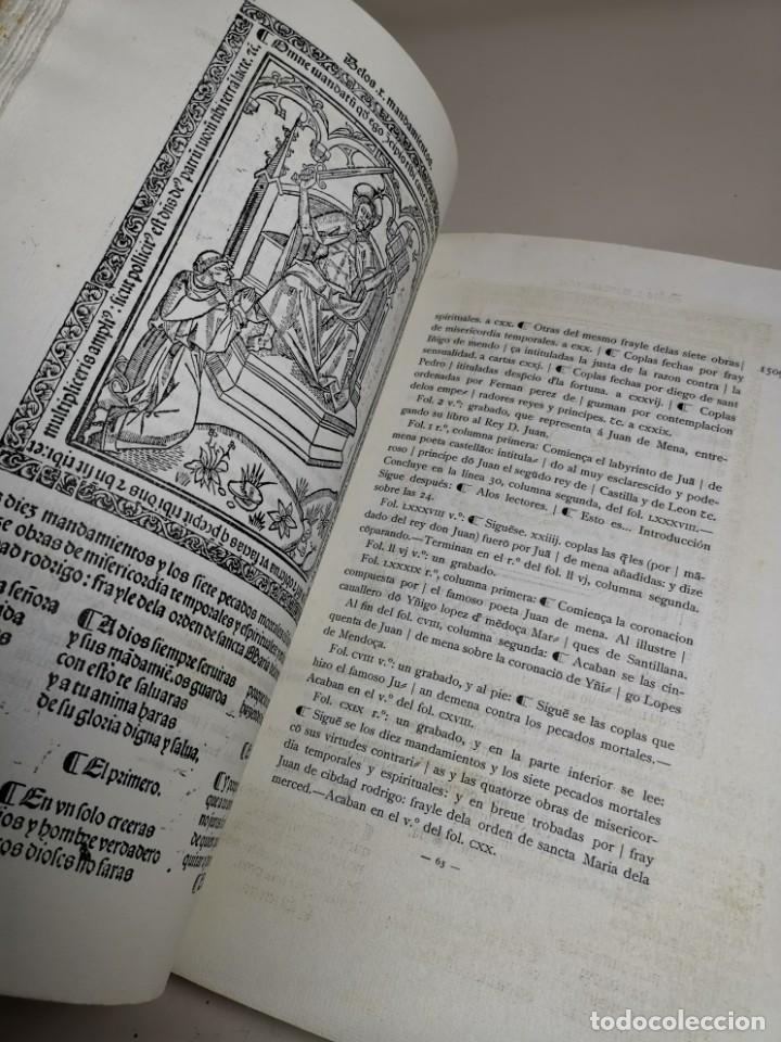 Libros antiguos: BIBLIOGRAFÍA ARAGONESA DEL SIGLO XVI ( 1501-1550 ) JUAN M. SÁNCHEZ 1913 papel de hilo 1/150.TOMO I.. - Foto 31 - 219274582