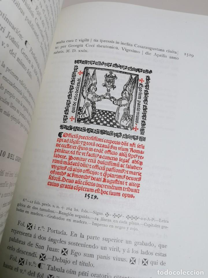 Libros antiguos: BIBLIOGRAFÍA ARAGONESA DEL SIGLO XVI ( 1501-1550 ) JUAN M. SÁNCHEZ 1913 papel de hilo 1/150.TOMO I.. - Foto 33 - 219274582