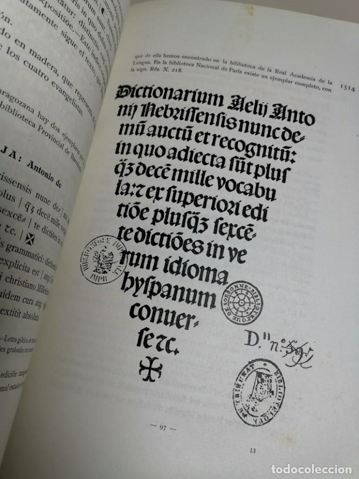 Libros antiguos: BIBLIOGRAFÍA ARAGONESA DEL SIGLO XVI ( 1501-1550 ) JUAN M. SÁNCHEZ 1913 papel de hilo 1/150.TOMO I.. - Foto 34 - 219274582