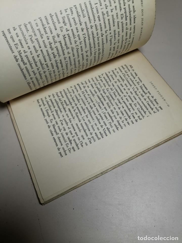 Libros antiguos: El meu Don Joan Maragall / J. Pijoan. BCN : Catalonia, s.a. 20x15cm. 120 p - Foto 11 - 219274910