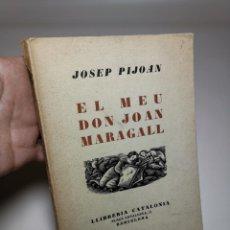 Libros antiguos: EL MEU DON JOAN MARAGALL / J. PIJOAN. BCN : CATALONIA, S.A. 20X15CM. 120 P. Lote 219274910