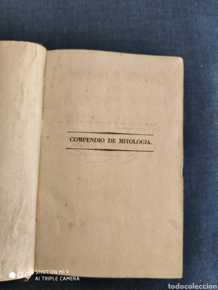 Libros antiguos: COMPENDIO DE MITOLOGIA Y DE LAS METAMORFOSIS DE OVIDIO. 1840. - Foto 6 - 220743323