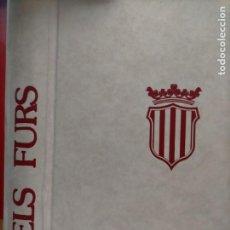 Libros antiguos: ELS FURS DE VICENT GARCIA EDITORES. Lote 221007848