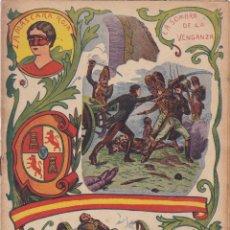 Libros antiguos: EL GRITO DE INDEPENDENCIA LA MASCARA ROJA LA SOMBRA DE LA VENGANZA CUADERNO Nº 7. Lote 221858798
