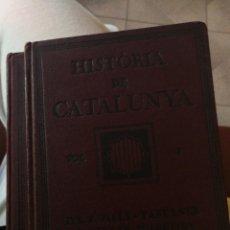 Libros antiguos: 2 LIBROS HISTORIA DE CATALUNYA 1922-1923 MAPAS Y FOTOS 214 PAG 18X13. Lote 222045510