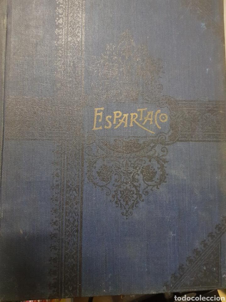 ESPARTACO 1901 CON ILUSTRACIONES (Libros antiguos (hasta 1936), raros y curiosos - Historia Antigua)