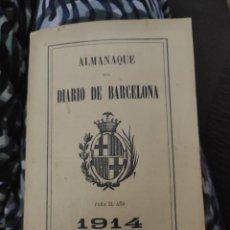 Libros antiguos: ALMANAQUE DEL DIARIO DE BARCELONA PARA EL AÑO 1862. Lote 222255917