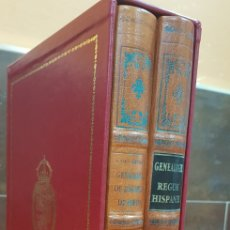 Libros antiguos: GENEALOGIA DE LOS REYES DE ESPAÑA.. Lote 222268995