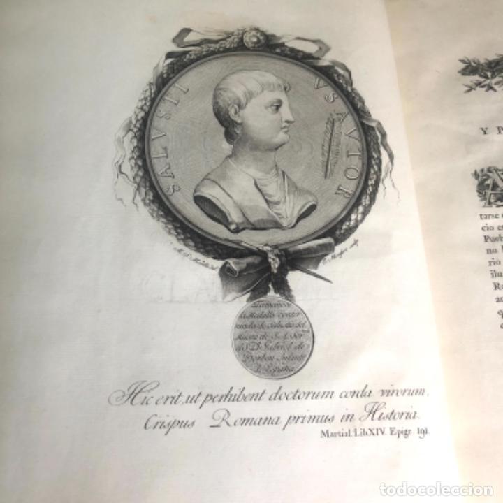 Libros antiguos: La Conjuración de Catilina y la guerra de Jugurta. Salustio en español por Ibarra año 1772 - Foto 8 - 223258452