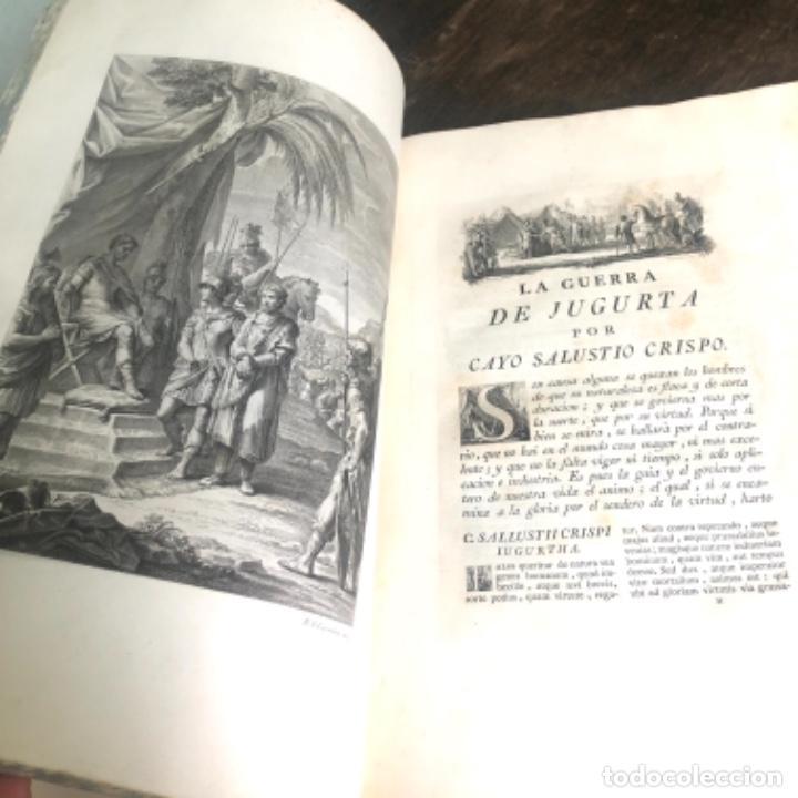 Libros antiguos: La Conjuración de Catilina y la guerra de Jugurta. Salustio en español por Ibarra año 1772 - Foto 10 - 223258452